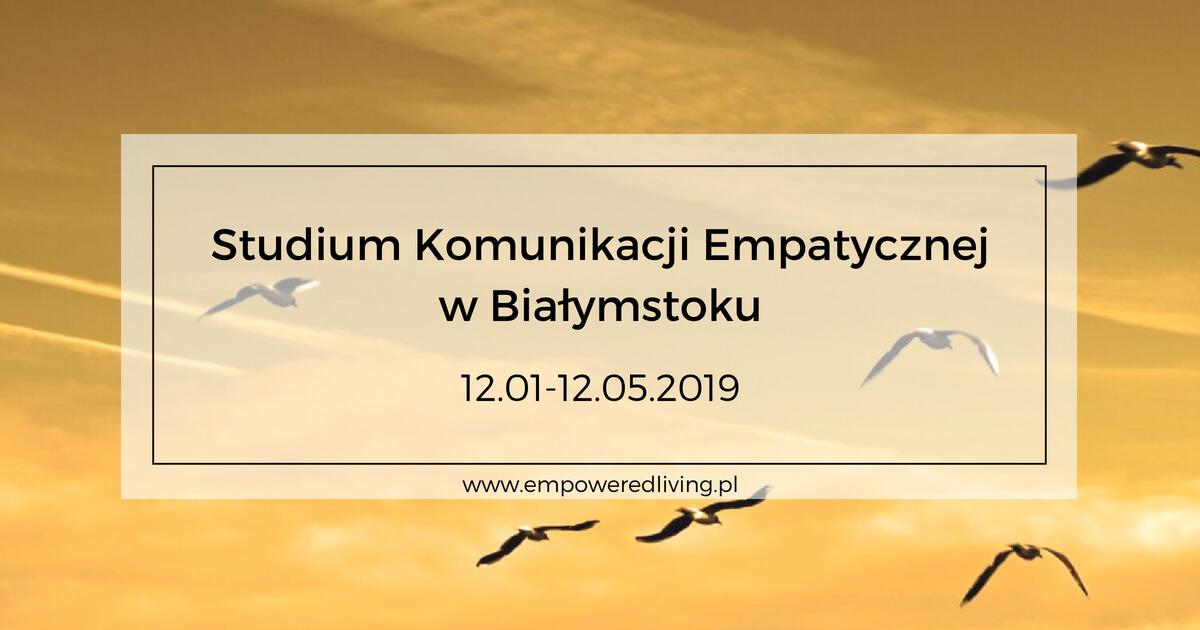 Studium Komunikacji Empatycznej w Białymstoku