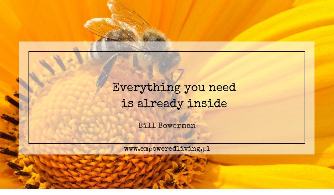 Empowered Living Agnieszka Aga Rzewuska-Paca Everything you need is already inside