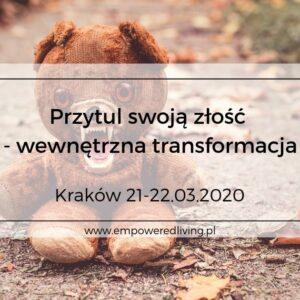 Empowered-Living-Aga-Agnieszka-Rzewuska-Paca-Event-Warsztaty-Złość-Kraków-03.2020